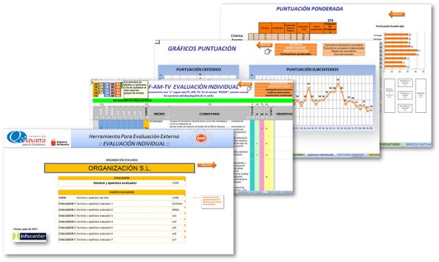 Heramienta para la Evaluación externa diseñada para la FNE